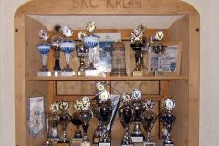 Pokale des Vereins
